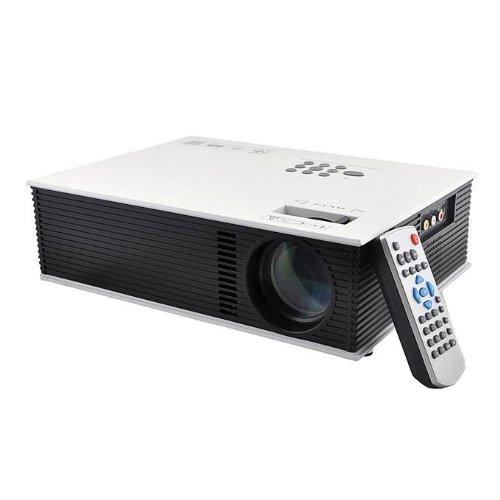 Tronsmart Uc80 1500 Lumens Multimedia Led Lcd Portable Projector Hdmi Av Vga Port Usb - White