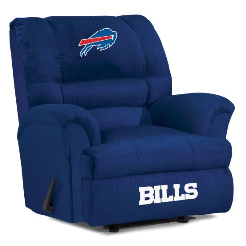 NFL Buffalo Bills Big Daddy Microfiber Recliner