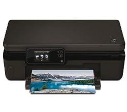 HP Photosmart 5520 e-All-in-One - Impresora multifunción de tinta color (A4, monocromático 11 páginas por minuto, color 8 páginas por minuto, USB 2.0, Wifi)