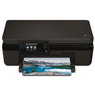 HP Photosmart 5520 e-All-in-One - Impresora multifunción de tinta color (A4, monocromático 11 páginas por minuto, color 8 páginas por minuto, USB 2.0, Wifi)