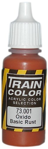 Vallejo Train Weathering Basic Rust Paint, 17ml