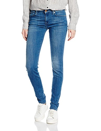 SELECTED FEMME - SFELENA MR 1 JEANS CAYAN VINTAGE NOOS, Blu Donna, Blu (Medium Blue Denim), W29/L32 (Taglia Produttore: 29)
