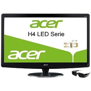 [Amazon] Acer HN274Hbmiiid 68,6 cm (27 Zoll) 3D LED Monitor inkl. Nvidia 3D Shutter Brille für 394€ (Vergleich: 444€)