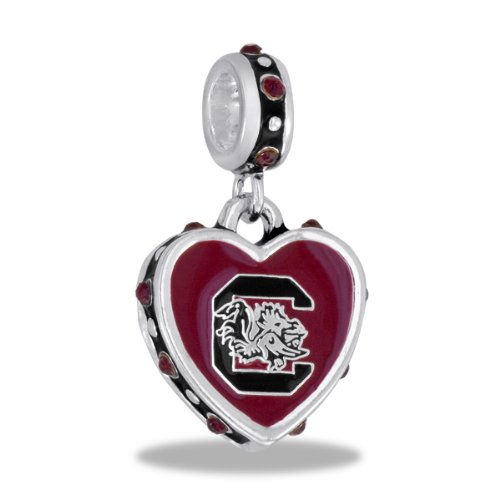 Davinci Bead University Of South Carolina - Jewelry Bracelet Memories Beads C-Sc1-Dav front-180449