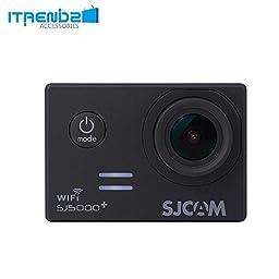 Video Camcorder, Itrendz Black Sj5000 Plus Wifi Sports Action Camera Sjcam Sj5000+ Water Resistant Helmet Head Video Camcorder