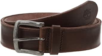 Timberland Cow - Ceinture - Uni - Homme - Marron (Cocoa) - FR: 80 cm (Taille fabricant: S)