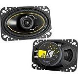 """Kicker DS46 4"""" x 6"""" DS-Series 2-Way Speakers"""