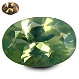 0.55 ct GIL Certified Oval Cut (6 x 4 mm) Un-Heated Color Change Alexandrite Gemstone