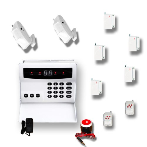 AAS 100 Wireless Home Security Alarm System Pet Immune DIY (R)