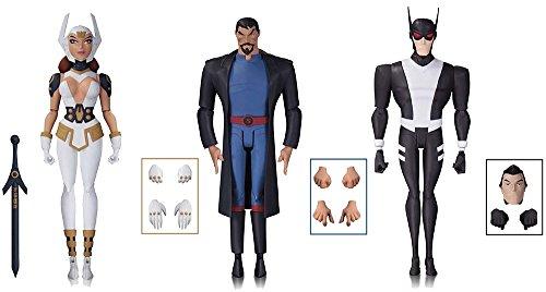 DC Collectibles Justice League Gods and Monsters Batman, Superman, Wonder Women Set of 3 Action Figures