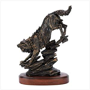 Faux Bronze Finish Noble Timber Wolf Home
