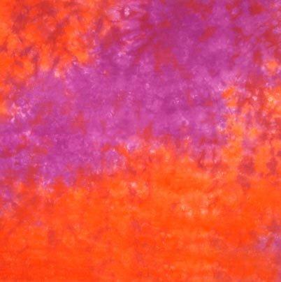 Red And Purple Handmade Tie Dye Bandana