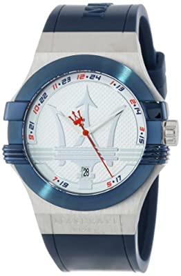 Maserati Men's R8851108003 Potenza Blue Dial Watch