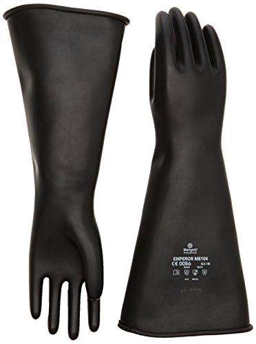 Marigold Me 104-8,5 peso medio-Guanto da forno, Guanti, misura grande, colore: nero