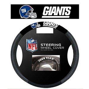 NFL New York Giants Poly-Suede Steering Wheel Cover (Steering Wheel Cover Giants compare prices)