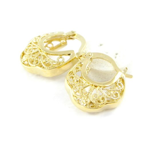 Hoops plated gold