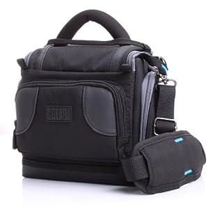 Sacoche Appareils photo numériques réflex - Garantie 3 ans - Canon EOS 100D , 700D , 1200D / Nikon D5300, D3200 & plus de modèles - Venture DX par USA GEAR