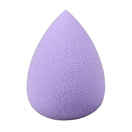Vovotrade 1PC Gouttelettes d'eau douce Beauté Maquillage éponge(Mauve)