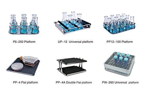 Platforms for Temperature Controlled Incubator & Shaker Scientific Incu-Shaker Shaking Incubator 50~300rpm R.T.+5 ~60°C ES-60 (PP-4)