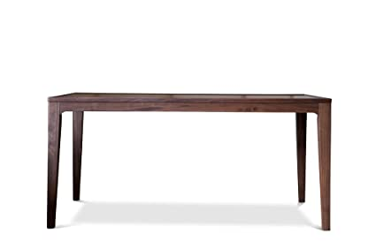 Table scandinave en noyer Hemët