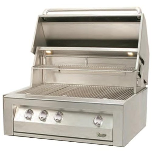 """36"""" Vintage Built-In Gas Grill With Lp Kit"""