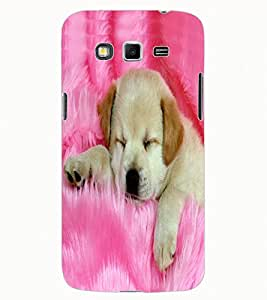 ColourCraft Cute Puppy Design Back Case Cover for SAMSUNG GALAXY GRAND 2 G7102 / G7106