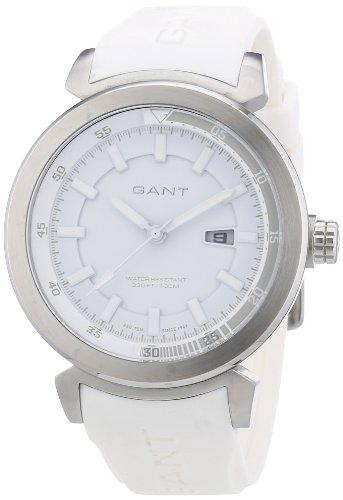 GANT W70352 - Reloj analógico de cuarzo para hombre, correa de plástico color blanco