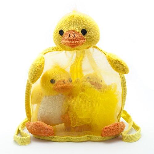 Set De Baño Infantil:Imágenes de Duck Set de baño para niños – Incluye mochila de malla