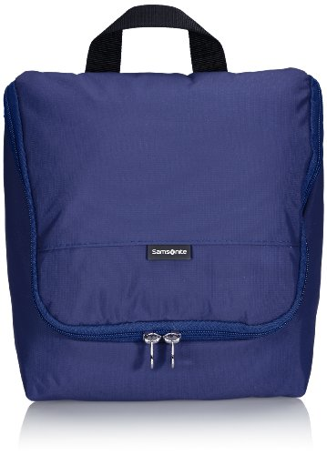 Samsonite Travel Accessor. V Hanging Toiletry Kit Beauty Case, Blu (Blu)