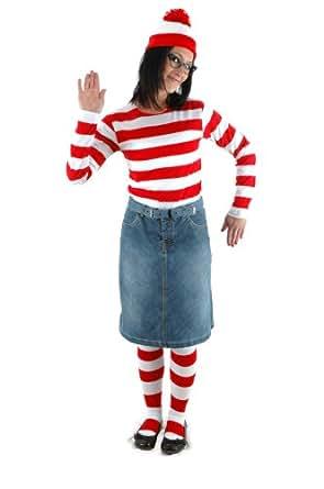 elope Women's Where's Waldo Wenda Kit, Small/Medium