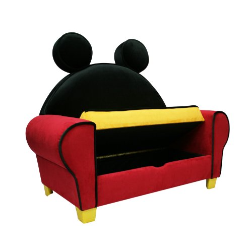 Minnie Mouse Kids Flip Open Sofa With Slumber Bag Party