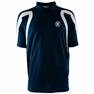 Houston Astros Point Polo Shirt (Team Color) by Antigua