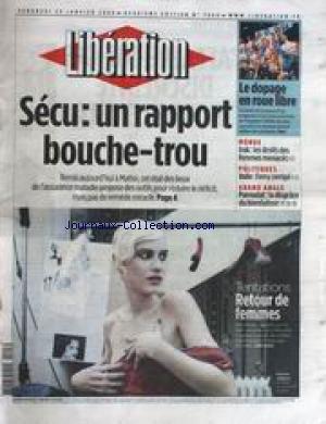 liberation-no-7060-du-23-01-2004-secu-un-rapport-bouche-trou-le-dopage-en-roue-libre-irak-les-droits