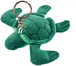 Puzzled Sea Turtle Plush Keychain