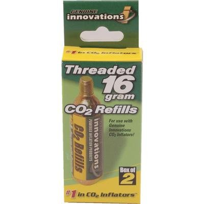 Genuine Innovations 16 Gram Threaded CO2 Cartridge - 6 Pack - G2153