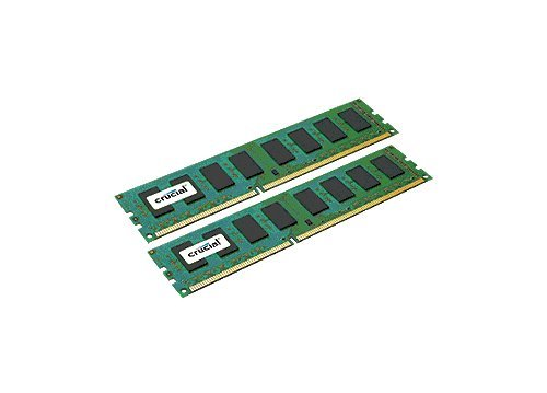 Memoria de Escritorio Crucial 16GB Kit DDR3 1600 MT/s (PC3-12800) CL11 Non-ECC, UDIMM 240-Pin