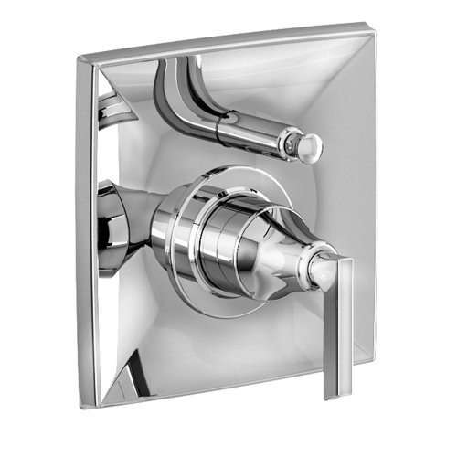 Jado 848546.100 Pyke Pressure Balance Diverter Tub and Shower Valve Trim, Polished Chrome