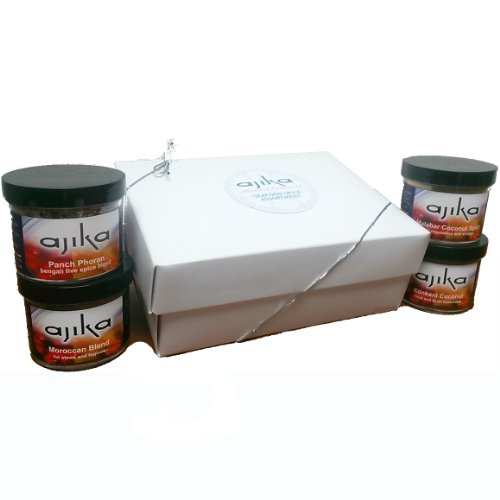 Ajika Seafood Lovers Holiday Gift Set, 16-Ounce