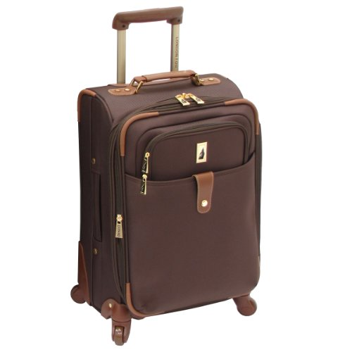 London Fog Chelsea Lites 21 Inch 360 Expandable Upright, Chocolate, One Size best deal