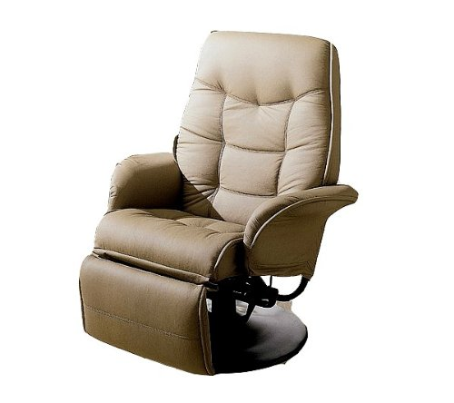 New Tan RV Motorhome Swivel Recliner Captians Chair