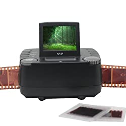 SVP FS1860 Black 35 mm negative Film and Slide Scanner with 2.4 inch LCD~ compact size