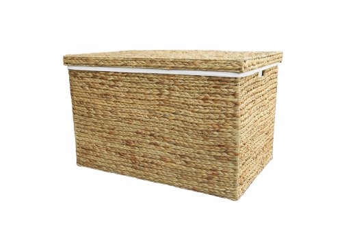 Extra Large Natural Marlow Rattan Wicker Storage Trunk / Basket / Toy Box