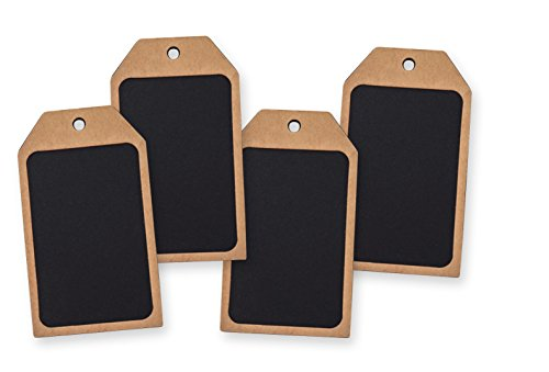 Large Chalkboard Gift Tags Pack of 16 (Large Chalkboard Table Numbers compare prices)