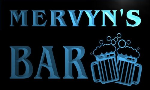 w104026-b-mervyns-name-home-bar-pub-beer-mugs-cheers-neon-light-sign