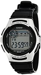 Casio Youth Black Dial Mens Watch - W-213-1AVDF (D065)