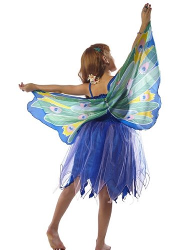 Douglas Toys Childrens' Peacock Dreamy Dress-up Costume - Xsmall