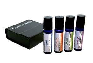 Bath By Bettijo Organic Aromatherapy Gift Set, All Four Sticks