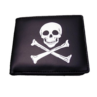 Accoutrements Deluxe Pirate Folding Wallet front-283550