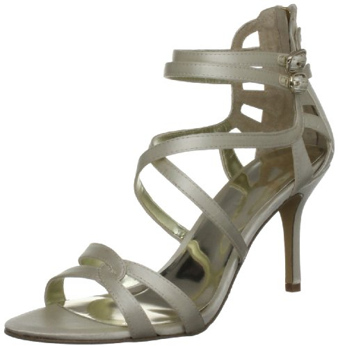Nine West Women's Goingsteady2s Ivory Open Toe 3144841759 8 UK
