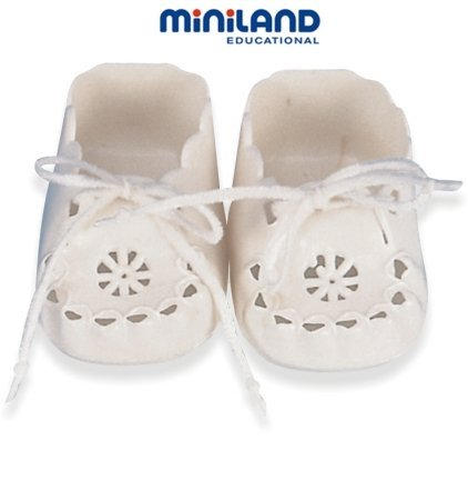 Miniland 2.5'' Baby Doll Shoes With Laces front-144724